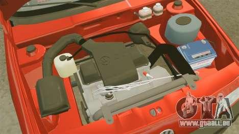 Volkswagen Passat B3 1995 pour GTA 4 est une vue de l'intérieur