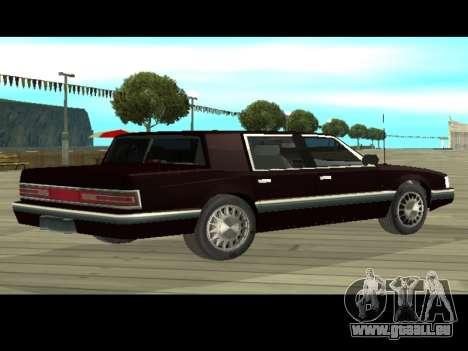 Willard HD (Dodge dynasty) für GTA San Andreas zurück linke Ansicht