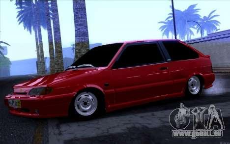 VAZ 2113 pour GTA San Andreas laissé vue