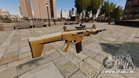 Fusil d'assaut de SMALL BUSINESS SERVER 5.56 pour GTA 4 secondes d'écran
