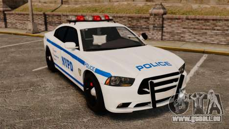 Dodge Charger 2012 NYPD [ELS] für GTA 4