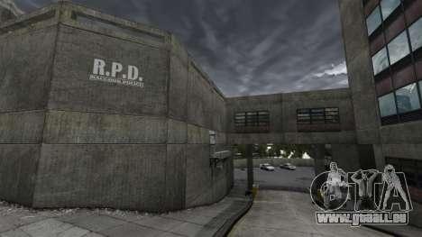Poste de police, raton laveur pour GTA 4 quatrième écran