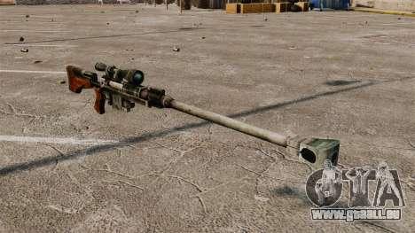 Fusil anti-matériel pour GTA 4