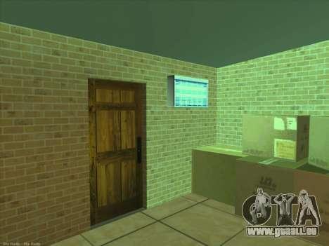Nouvelles textures pour intérieur pour GTA San Andreas sixième écran