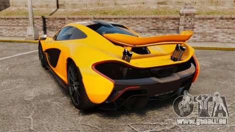 McLaren P1 2014 [EPM] für GTA 4 hinten links Ansicht