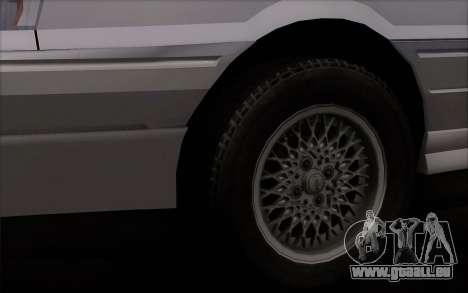 FSO Polonez Atu Orciari 1.4 GLI 16V pour GTA San Andreas sur la vue arrière gauche