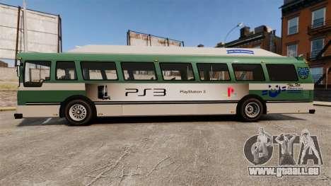 Véritable publicité sur les taxis et les bus pour GTA 4 quatrième écran