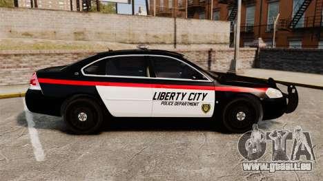 Chevrolet Impala 2008 LCPD STL-K Force [ELS] pour GTA 4 est une gauche