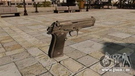 Pistolet semi-automatique Beretta pour GTA 4 secondes d'écran