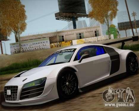 Audi R8 LMS Ultra v1.0.1 DR für GTA San Andreas