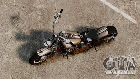 Harley-Davidson Knucklehead v2 pour GTA 4 Vue arrière de la gauche