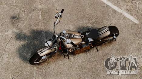 Harley-Davidson Knucklehead v2 für GTA 4 hinten links Ansicht