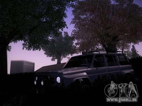 Nissan Patrol GR 1991 pour GTA San Andreas vue arrière