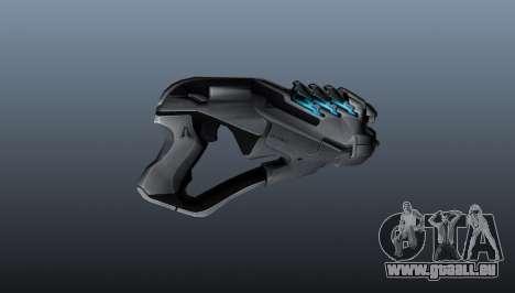 Pistolet Arc Zone Ii pour GTA 4 troisième écran