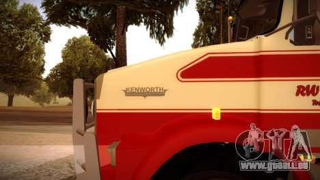 Kenworth RoadTrain T800 für GTA San Andreas linke Ansicht