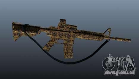 Automatische Carbine M4A1 für GTA 4 dritte Screenshot