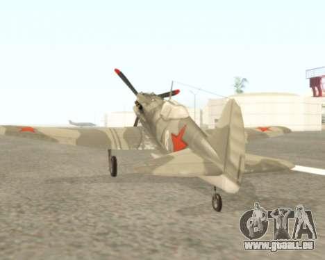 MIG-3 pour GTA San Andreas vue de droite