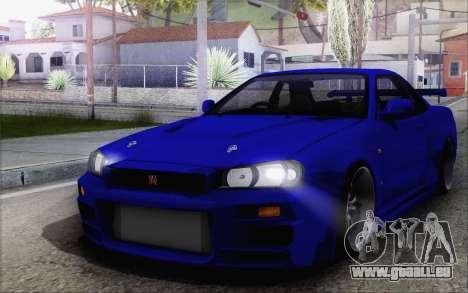 Nissan Skyline GT-R34 pour GTA San Andreas