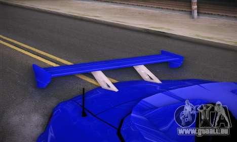 Honda S2000 pour GTA San Andreas vue de côté