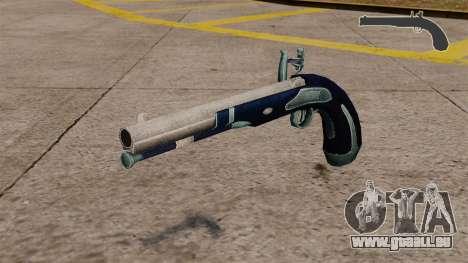 Flint-Lock-Pistole für GTA 4
