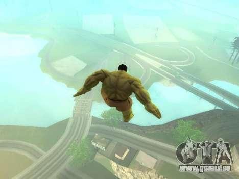 Saut de Hulk pour GTA San Andreas