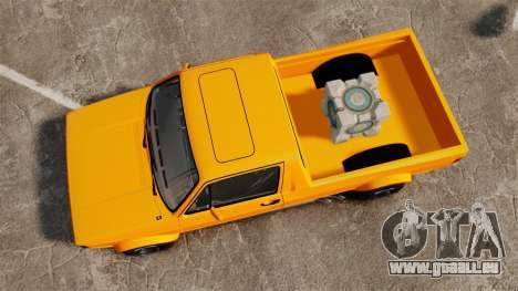 Volkswagen Caddy pour GTA 4 est un droit