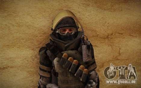 COD MW3 Heavy Commando für GTA San Andreas sechsten Screenshot