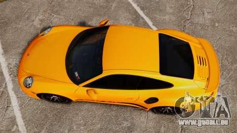 Porsche 911 Turbo 2014 [EPM] Turbo Side Stripes pour GTA 4 est un droit
