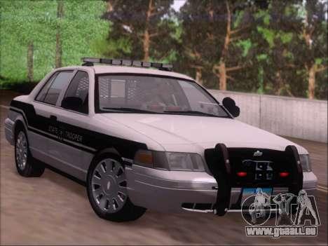 Ford Crown Victoria San Andreas State Trooper für GTA San Andreas