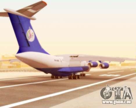 Il-76td Silk Way für GTA San Andreas rechten Ansicht