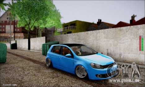 Volkswagen mk6 Stance Work pour GTA San Andreas
