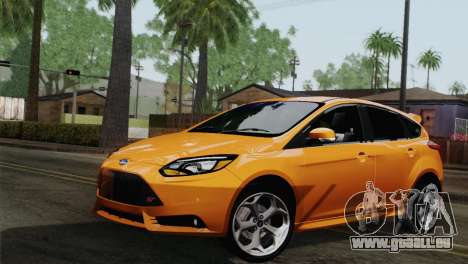 Ford Focus ST 2013 pour GTA San Andreas