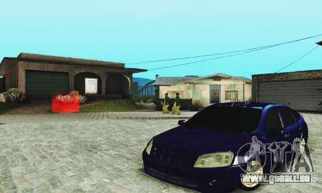 Lada Granta Schrägheck für GTA San Andreas Innenansicht