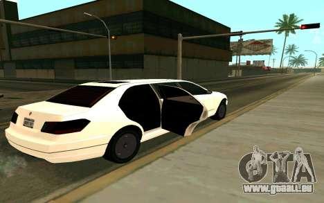 Stretch from GTA 4 pour GTA San Andreas sur la vue arrière gauche
