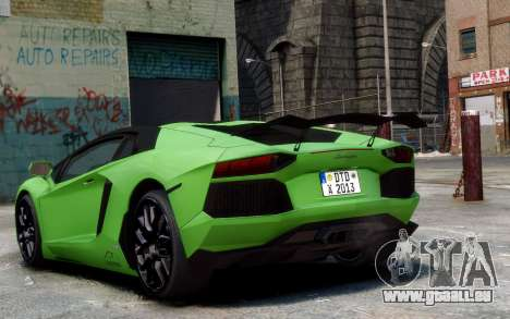 Lamborghini Aventador LP760-4 Oakley Design für GTA 4 linke Ansicht