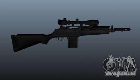 Le fusil semi-automatique M14 pour GTA 4 troisième écran