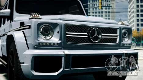 Mercedes-Benz G65 AMG 2013 pour GTA 4 est un droit