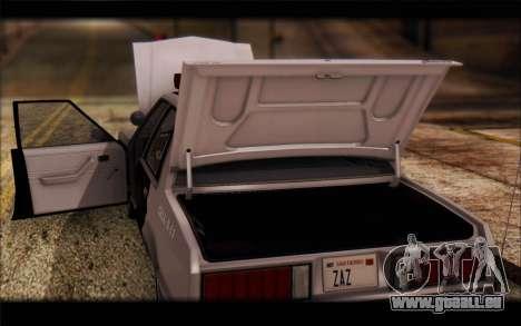 Ford Fairmont 1978 4dr Police für GTA San Andreas Innenansicht