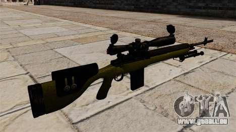 Cnajperskaâ fusil M14 DMR pour GTA 4 secondes d'écran