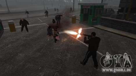 Nouveau Zombie-script pour GTA 4 sixième écran