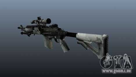 Fusil de sniper M21 Mk14 v1 pour GTA 4 secondes d'écran