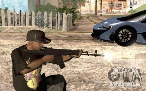 AK12 für GTA San Andreas her Screenshot