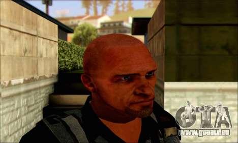 Sam de Far Cry 3 pour GTA San Andreas troisième écran
