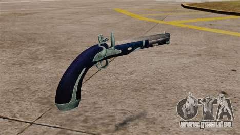Flint-Lock-Pistole für GTA 4 Sekunden Bildschirm
