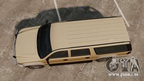GTA V Declasse Granger 3500LX für GTA 4 rechte Ansicht