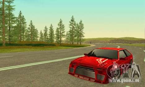 VAZ 2108 TAMR Style pour GTA San Andreas laissé vue