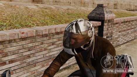 Une collection de casques Arai v1 pour GTA 4 cinquième écran