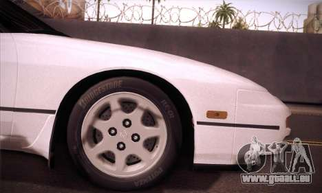 Nissan 240SX 1991 Tunnable pour GTA San Andreas vue arrière