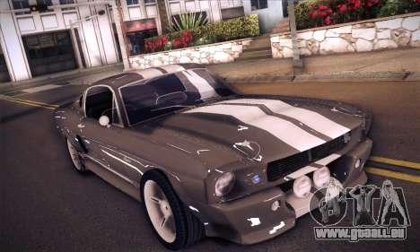 Shelby GT500 E v2.0 für GTA San Andreas linke Ansicht
