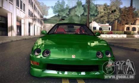Honda Integra Normal Driving pour GTA San Andreas sur la vue arrière gauche